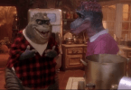 The Notorious B.I.G. mashup with Dinosaurs TV show youtube video