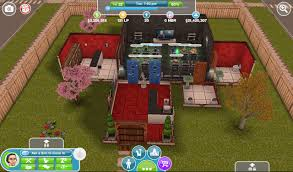 The Sims Freeplay house