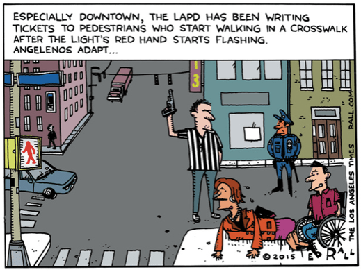 LA Times fires Ted Rall after Rall criticized LAPD