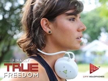 LIVV Headphones true freedom