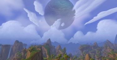Moon over Nagrand draenor
