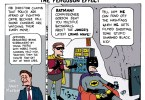 the ferguson effect batman ted rall