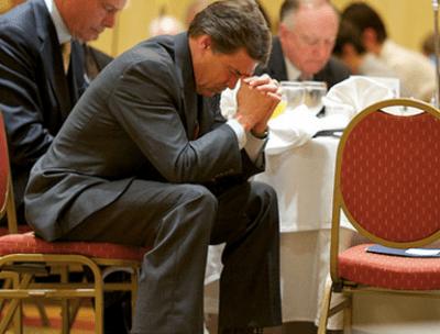 rick perry praying