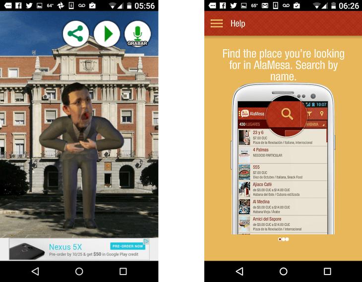 cuban mobile apps kickrajoy alamesacuba