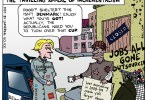 ted rall cartoon incrementalism