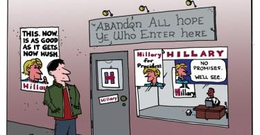 ted rall cartoon hillary clinton