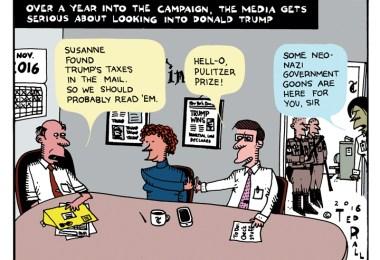 investigating trump taxes