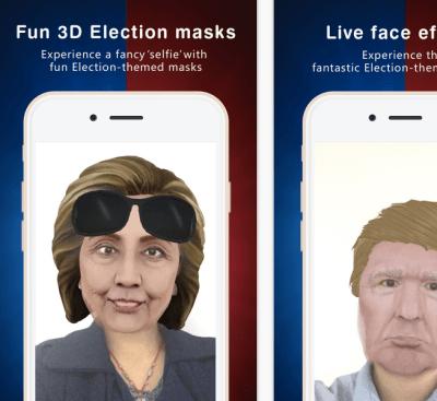 camo live masks for presidential debate