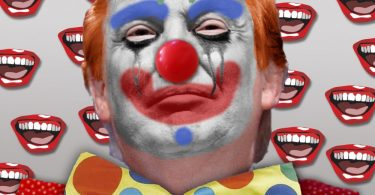 Donald Trump scarcy clown epidemic