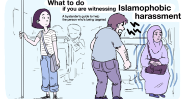 islamophobia what to do if you see someone harassing a muslim woman muslim man