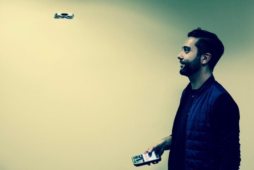 air selfie drone flying camera airselfie cost kickstarter preorder