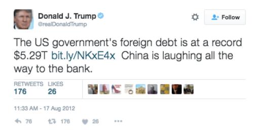 china warns donald trump china warned trump china warned donald trump tweets