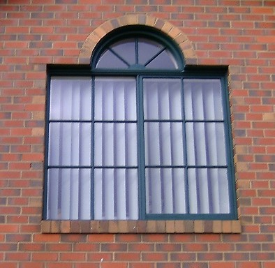 Arch window fail