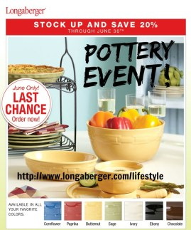 Sale on Woven Traditions Pottery - America's favorite!