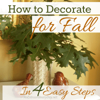 How to Decorate for Fall in 4 Easy Steps