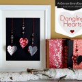 Beaded Dangling Hearts :: Valentine Craft Decor :: Valentine Mantel :: AnExtraordinaryDay.net
