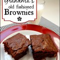Your Grandma's Brownies ~ Simple and Delicious :: AnExtraordinaryDay.net