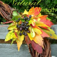 Natural Fall Wreath :: Project Inspire{d} #89