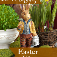 Be Inspired By This 10 Minute Easter Vignette