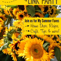 Project Inspire{d} #130 Link Party and My Summer Faves