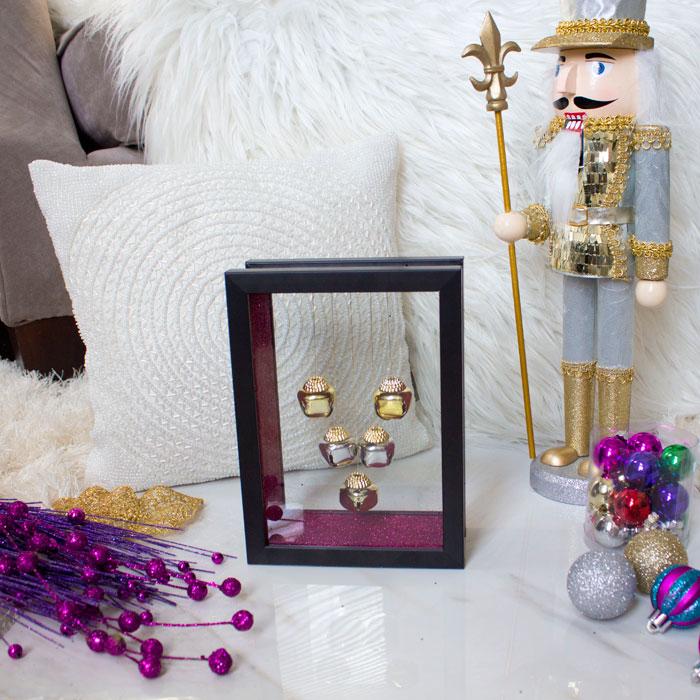 How To | Budget Friendly | Christmas DIY | Dollar Tree | Shadow Box | Home Decor | Home DIY
