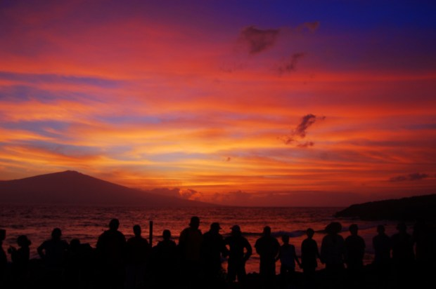 """""""Sunrise Kaho'olawe Hawaii"""" by Jason Ornellas via Flickr.com ~ This work is licensed under a Creative Commons Attribution 2.0 License."""