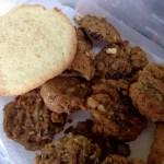 Burger-and-Bun Cookies (Sorghum and Sugar)! (by Jim)