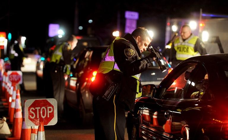 San Diego DUI checkpoint.