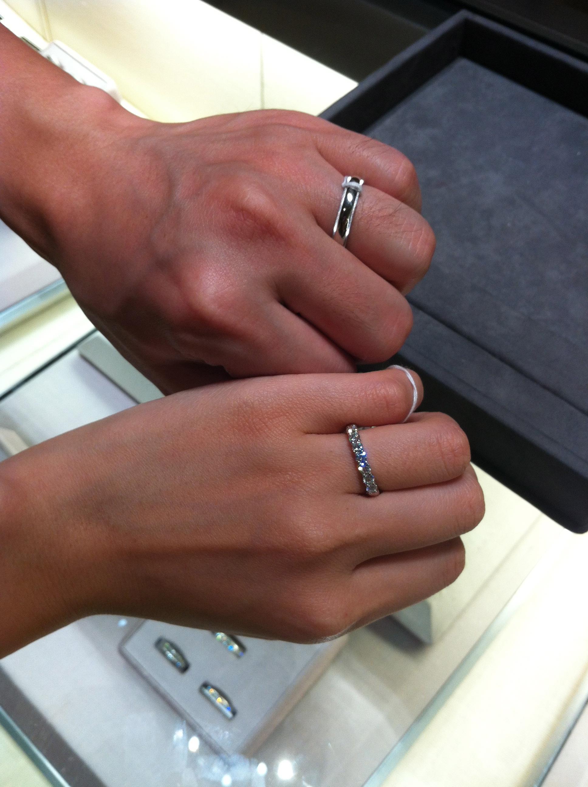 EA B2 B0 ED 98 BC wedding ring engraving Our Engagement