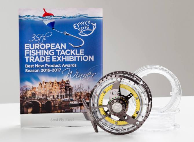 Ultralite ASR fly reel with the EFTTEX 2016 award