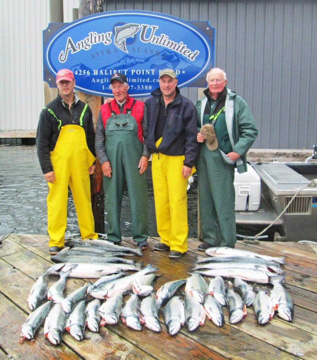 Sitka fishing report 6 27 first silver limit angling for Sitka fishing report