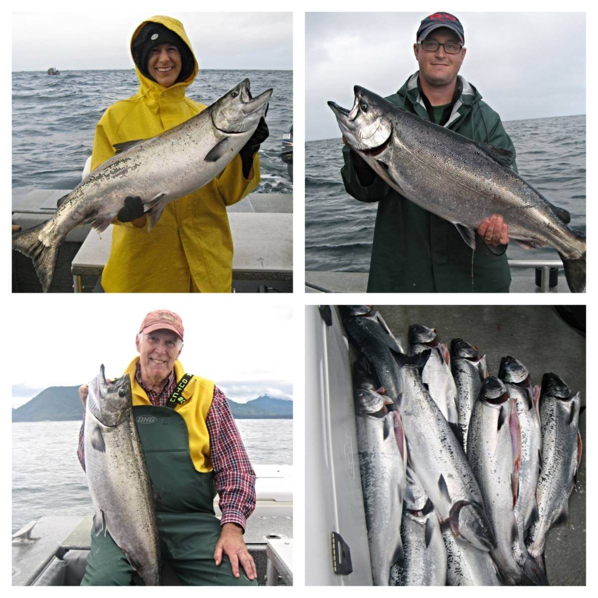Sitka fishing report 8 4 glassburn party angling unlimited for Sitka fishing report