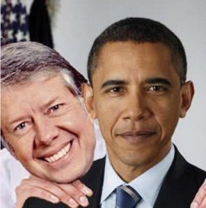 Obama = Carter