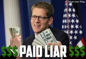 Jay Carney Is A Paid Liar