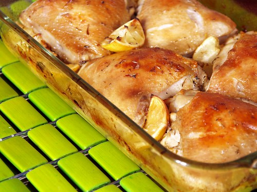 """Roast Lemon and Thyme Chicken - Ang Sarap (A Tagalog word for """"It's ..."""