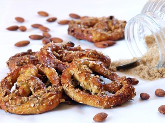 Almond Toffee Pretzels