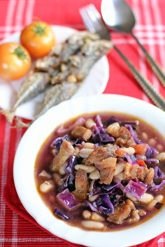 Cabbage and Cannellini Bean Stew