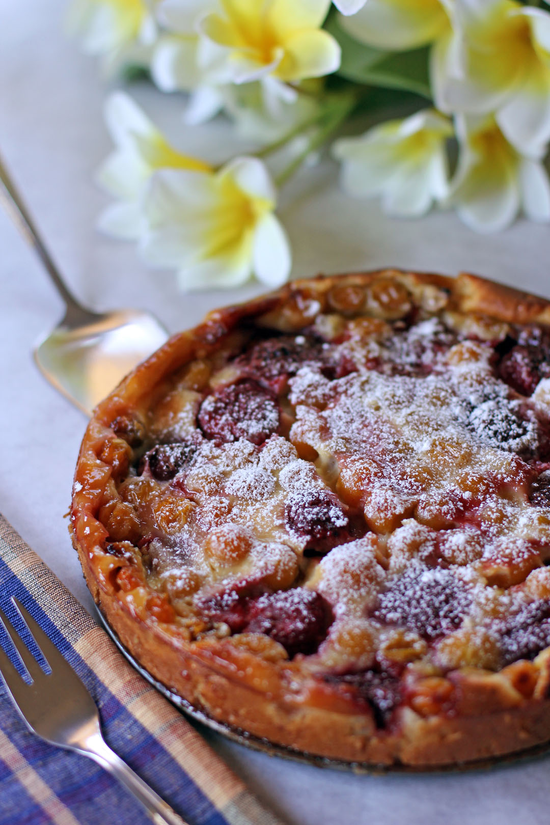 Flaugnarde Of Mixed Berries (Clafoutis) Recipes — Dishmaps