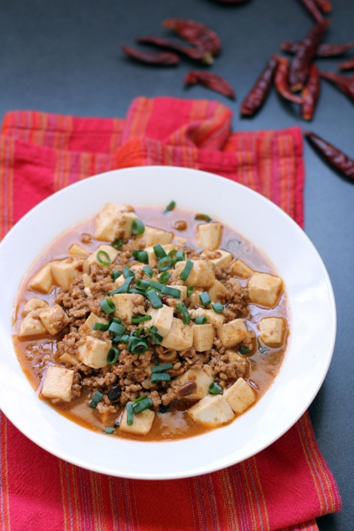mapo doufu or mapo tofu is a popular sichuanese dish which is made out ...