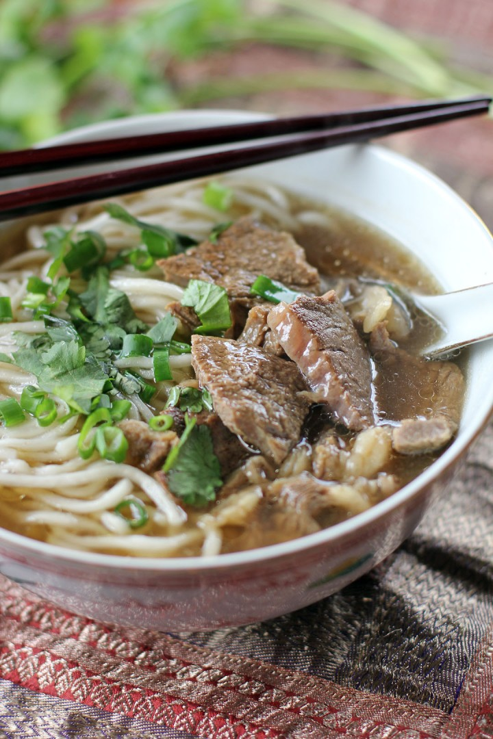Taiwanese Beef Noodle Soup - Ang Sarap