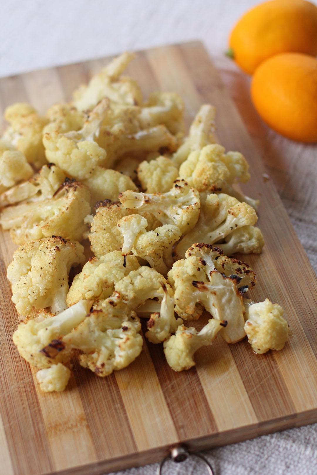 Roasted Garlic Cauliflower - Ang Sarap