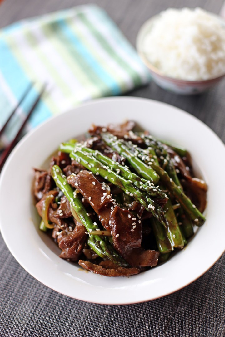 Beef and Asparagus Stir Fry - Ang Sarap