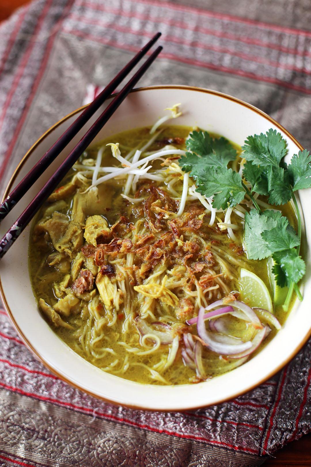 Chicken Khao Soi - Ang Sarap