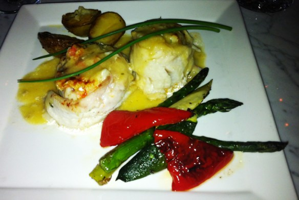 Halibut and Crab