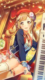 46913-BanG_Dream-IchigayaArisa-iPhone-Android-Wallpaper