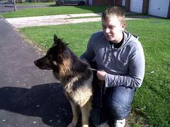 Duke the dog reunited