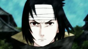 sasuke's intense new look