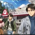 【進撃の巨人×富士急ハイランド】コラボ1周年イベントが3月24日(土)に開始!
