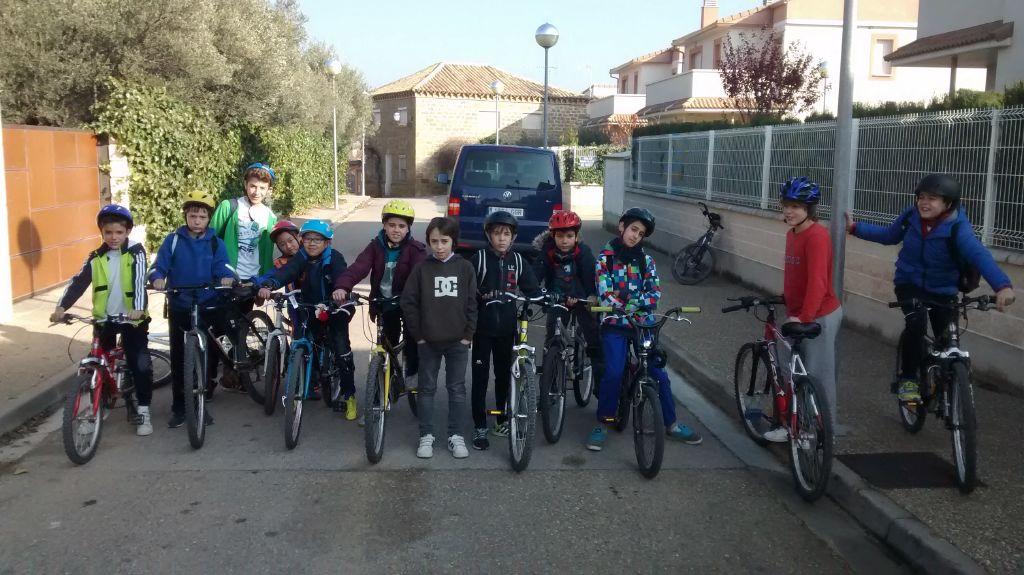 Excursión en bici por Arguis