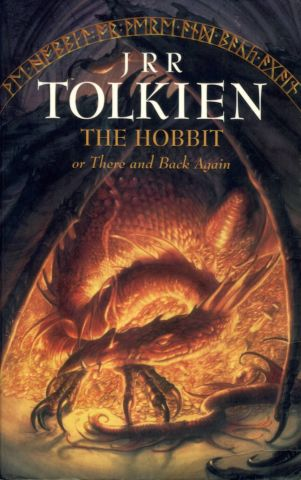Εξώφυλλο του βιβλίου The Hobbit του J.R.R Tolkien